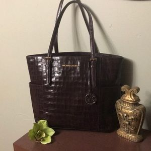 Michael Kors Crocodile Embossed